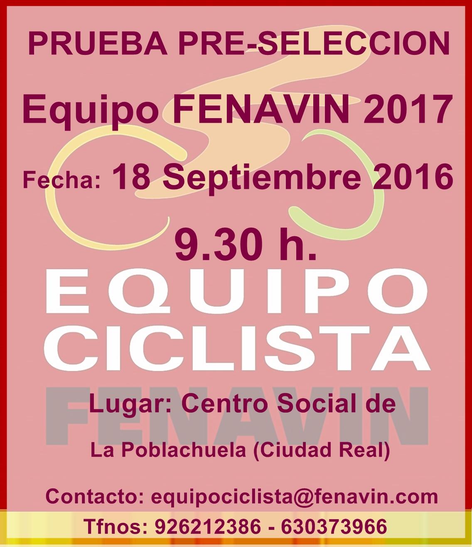 Pruebas Equipo Fenavin 2017